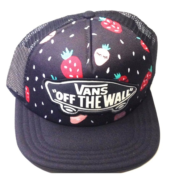 4dede2da5e7 Vans OTW Beach Girl Trucker Snap Back Hat